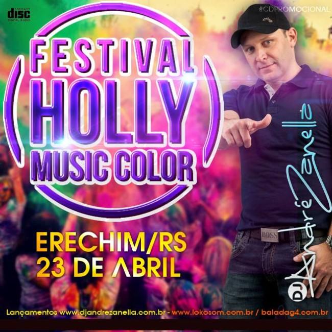 CAPA-Holly Festival das Cores - Dj Andre Zanella