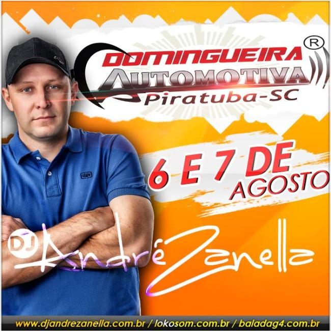 9ª Domingueira Automotiva - Dj Andre Zanella CAPA