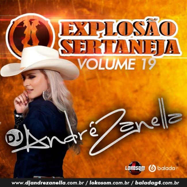 Explosão Sertaneja vol.19 - Dj Andre Zanella CAPA