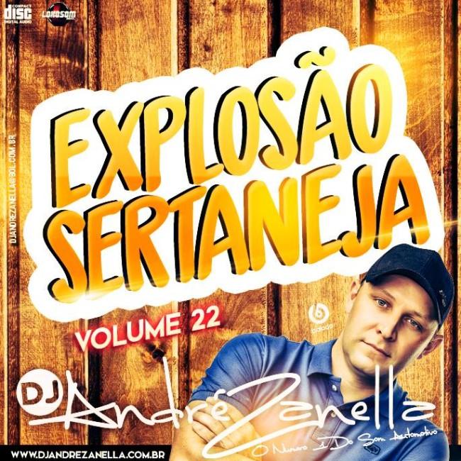 EXPLOSÃO SERTANEJA 22 DJ ANDRE ZANELLA