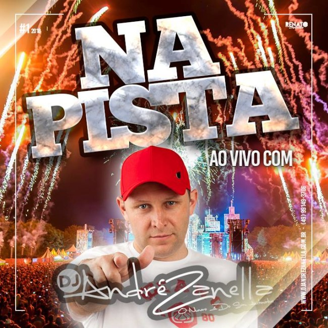 na PISTA CAPA DJ ANDRE ZANELLA #1